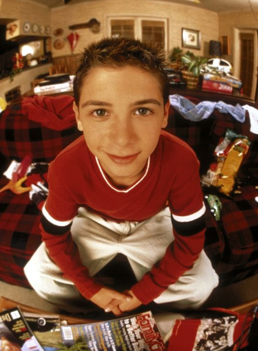 (1. Staffel) - Malcolms Bruder Reese (Justin Berfield) ist mit vielem, was in seiner Familie passiert, nicht einverstanden. - Bildquelle: TM +   2000 Twentieth Century Fox Film Corporation. All Rights Reserved.