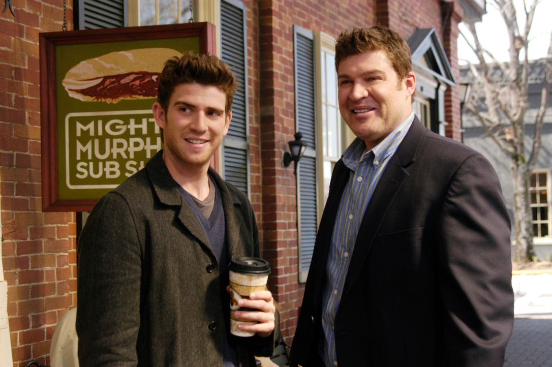 Nicks (Bryan Greenberg, l.) ehemaliger Kumpel Owen Rowan (Brad William Henke, r.) lebt ein scheinbar perfektes Leben ... - Bildquelle: 2007 American Broadcasting Companies, Inc. All rights reserved.