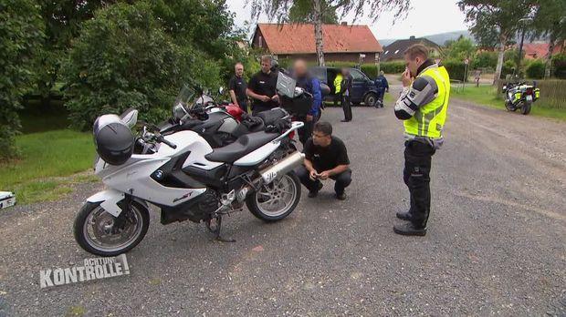 Achtung Kontrolle - Achtung Kontrolle! - Motorräder Mit Viel ärger - Polizei Hildesheim
