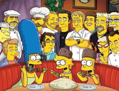 Die Simpsons - Um in der Gunst ihrer Kinder zu steigen, organisiert Marge (vo...