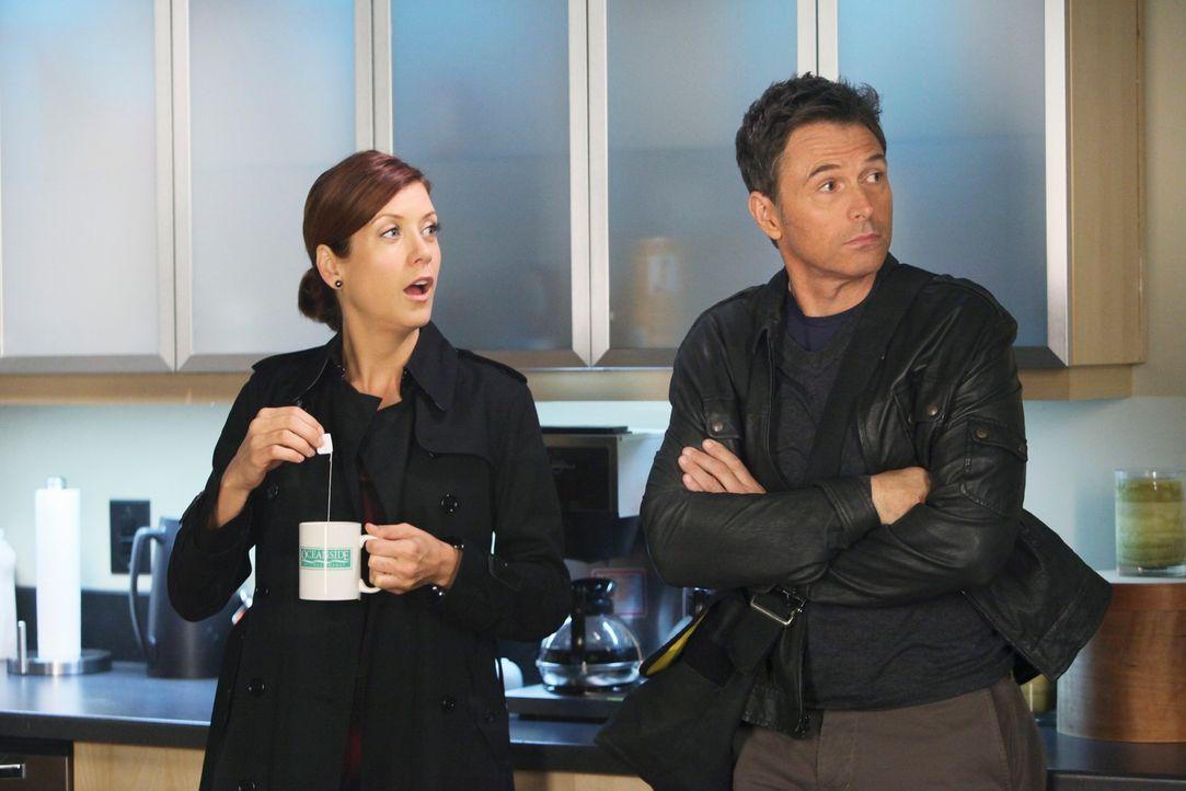 Sind etwas geschockt von Captains Verhalten: Pete (Tim Daly, r.) und Addison (Kate Walsh, l.) ... - Bildquelle: ABC Studios