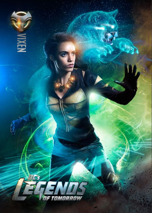 (2. Staffel) - Amaya Jiwe alias Vixen (Maisie Richardson-Sellers) ist ein Mitglied der Justice Society of America und findet sich plötzlich in den R... - Bildquelle: 2016 Warner Bros.