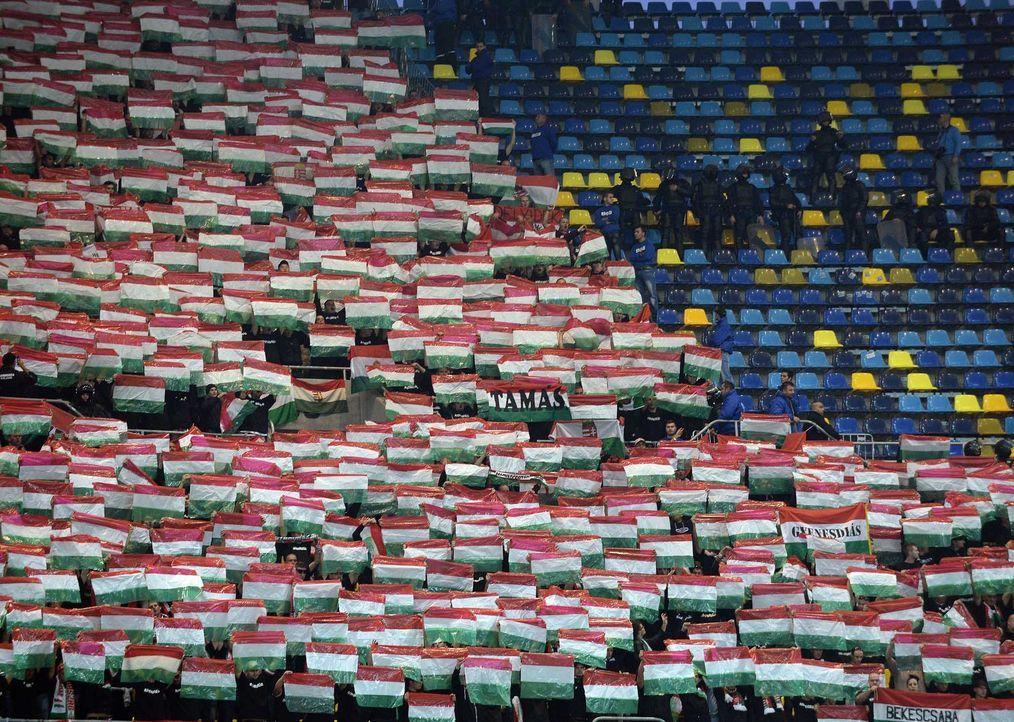 Fußball-Fan-Ungarn-151008-4-AFP - Bildquelle: AFP
