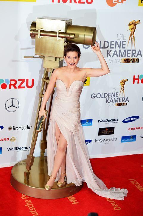 Goldene-Kamera-Jeanette-Biedermann-140201-2-dpa - Bildquelle: dpa