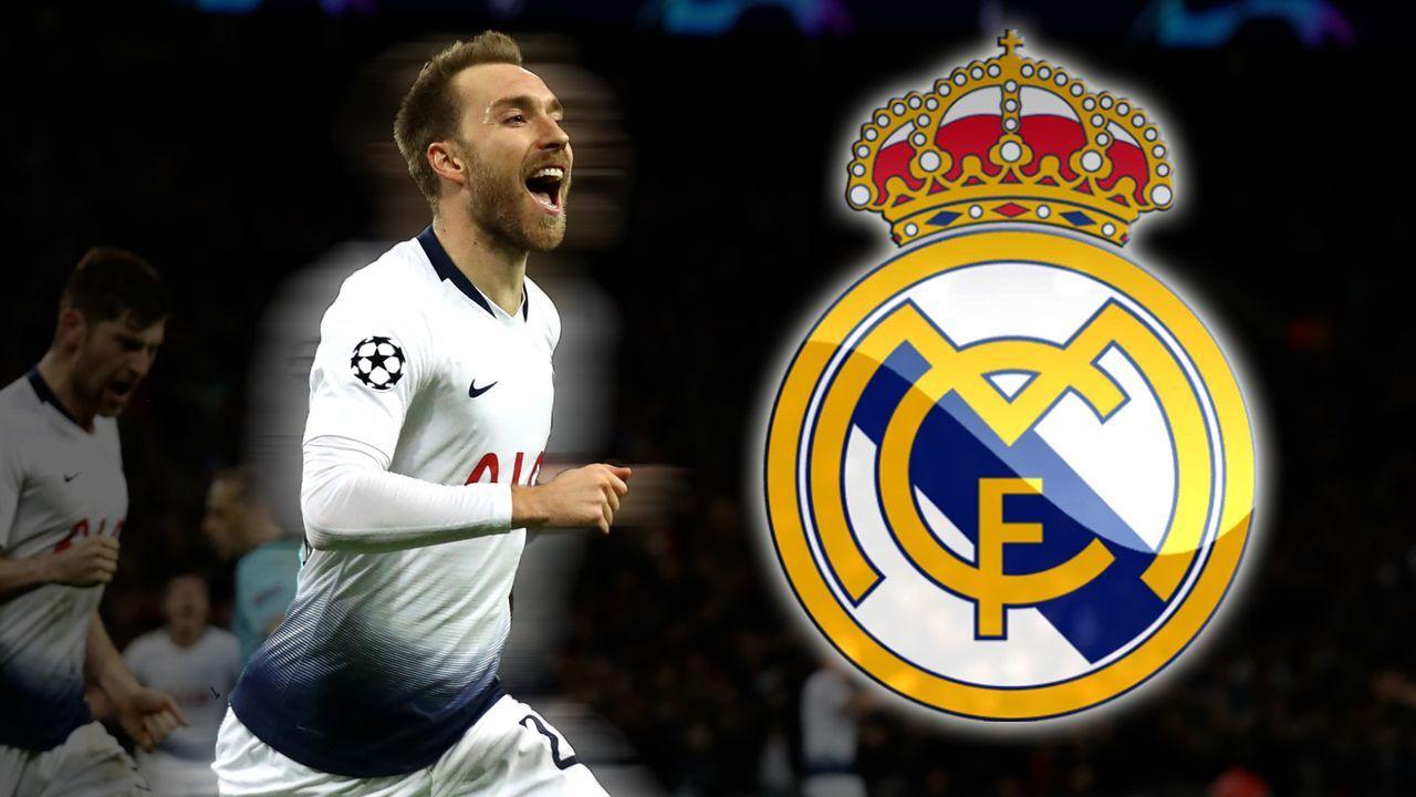 Christian Eriksen (Real Madrid) - Bildquelle: 2018 Getty Images