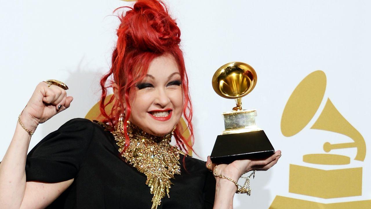 Grammy-Awards-Cyndi-Lauper-14-01-26-AFP - Bildquelle: AFP