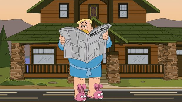 Brickleberry hat eine weibliche Gouverneurin, mit der Woody so seine Probleme...