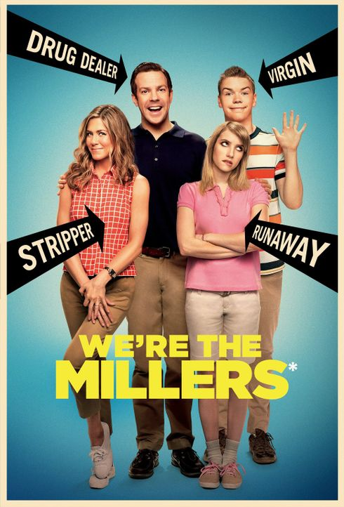 Wir sind die Millers - Plakatmotiv - Bildquelle: 2013 Warner Brothers.  All rights reserved.