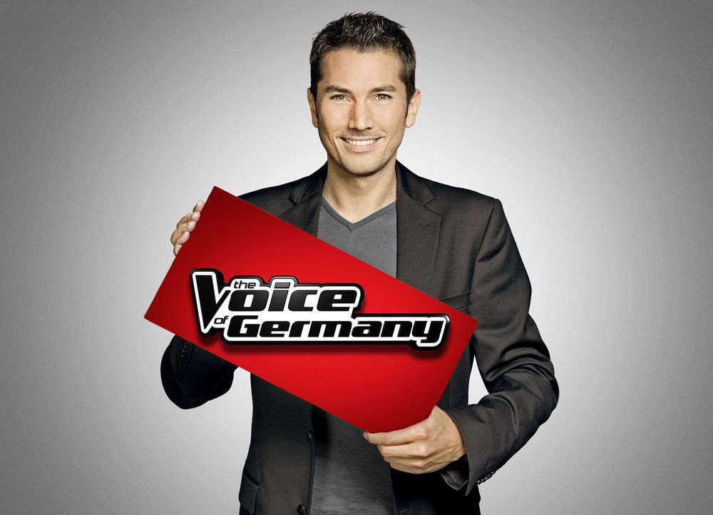 """Moderiert """"The Voice of Germany"""" - die begehrteste Musikshow der Welt: Stefan Gödde ... - Bildquelle: SAT.1/ProSieben"""