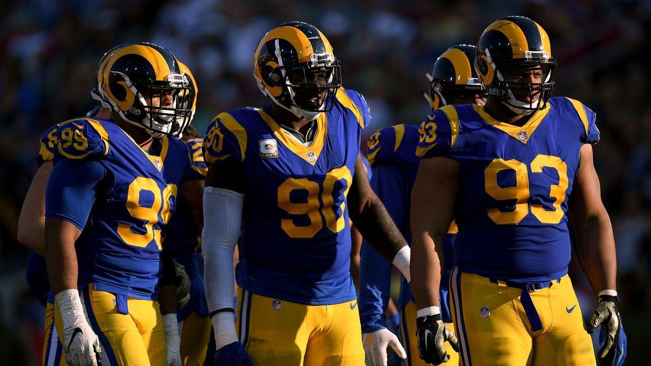 Platz 2: Los Angeles Rams - Bildquelle: 2018 Getty Images