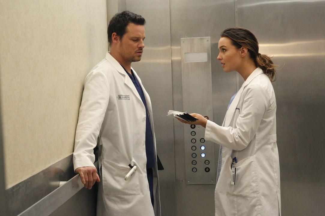 Während im Krankenhaus die Grippe ausbricht, versuchen Alex (Justin Chambers, l.) und Jo (Camilla Luddington, r.) dem Virus zu entkommen. Doch wird... - Bildquelle: ABC Studios