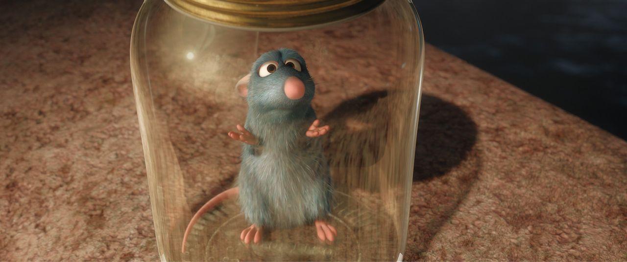 Wieder einmal gerät Remy in eine ausweglos scheinende Situation ... - Bildquelle: Disney/Pixar.  All rights reserved