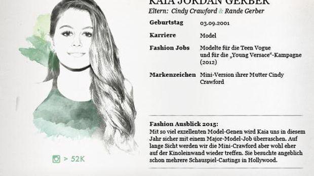 Kaia Gerber Stylight