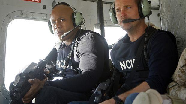 Ein neuer Einsatz wartet auf Callen (Chris O'Donnell, r.) und Sam (LL Cool J,...