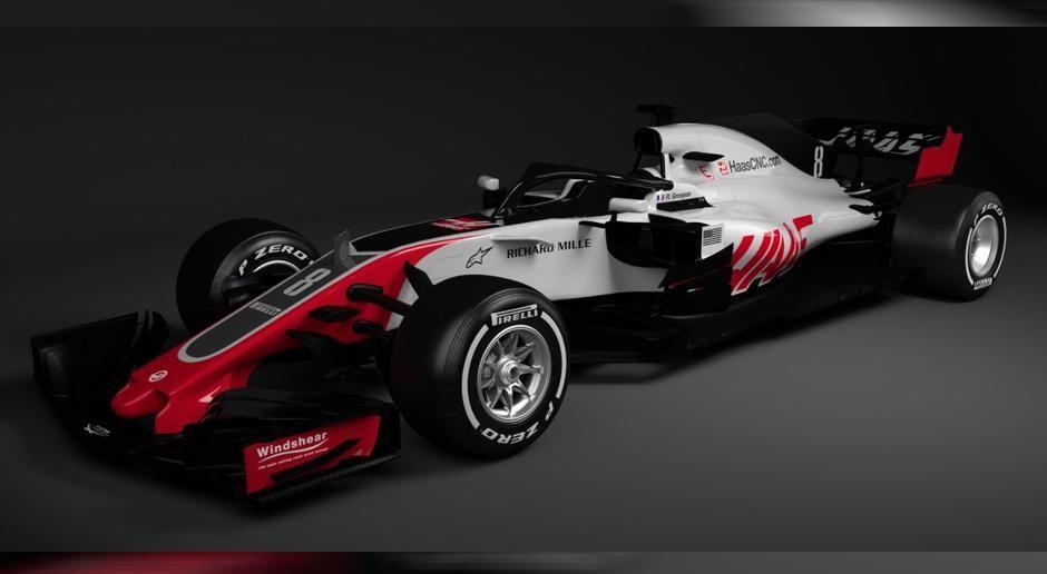 Haas F1 Team - Bildquelle: twitter.com/RGrosjean