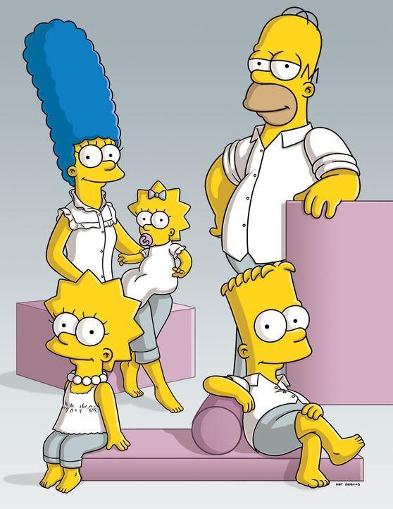 (21. Staffel) - Tag für Tag geraten die Simpsons in Situationen, die alles von ihnen oder ihrer Umgebung abfordert: Marge (hinten l.), Lisa (vorne l... - Bildquelle: und TM Twentieth Century Fox Film Corporation - Alle Rechte vorbehalten