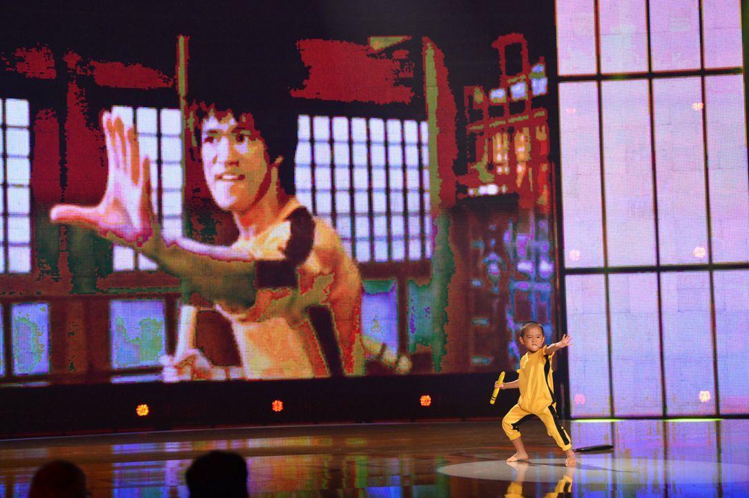 Ryusei Imai eifert seinem Idol Bruce Lee nach und kommt ihm gefährlich nahe ... - Bildquelle: Willi Weber SAT.1
