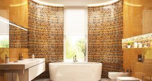 Wellness zuhaue: Indirekte Beleuchtung im Bad sorgt für die perfekte Stimmung...