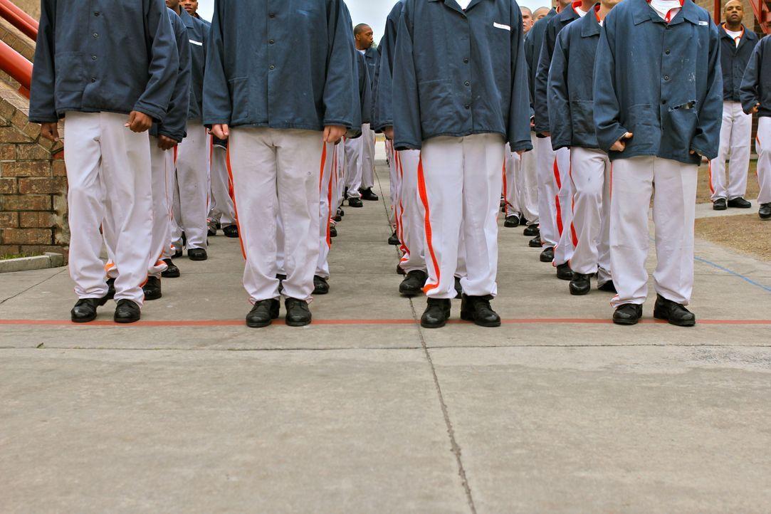 Im Coastal State Gefängnis in Savannah müssen die Insassen zum Boot Camp antreten ... - Bildquelle: Dan Bree part2pictures