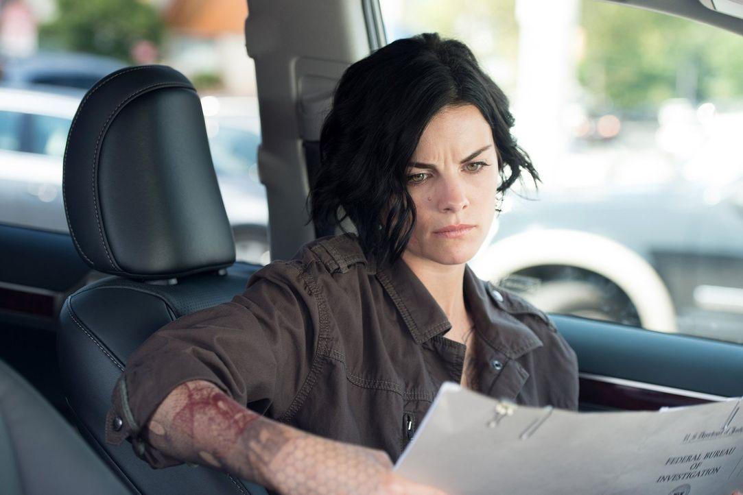 Die Suche nach ihrer Identität geht weiter: Jane (Jaimie Alexander) ... - Bildquelle: Warner Brothers