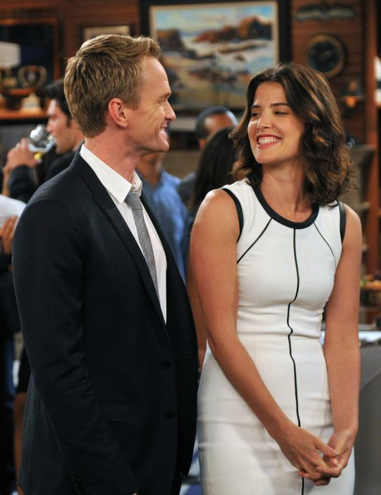 Die Hochzeitsplanungen haben sich Barney (Neil Patrick Harris, l.) und Robin (Cobie Smulders, r.) irgendwie einfacher vorstellt ... - Bildquelle: 2013 Twentieth Century Fox Film Corporation. All rights reserved.