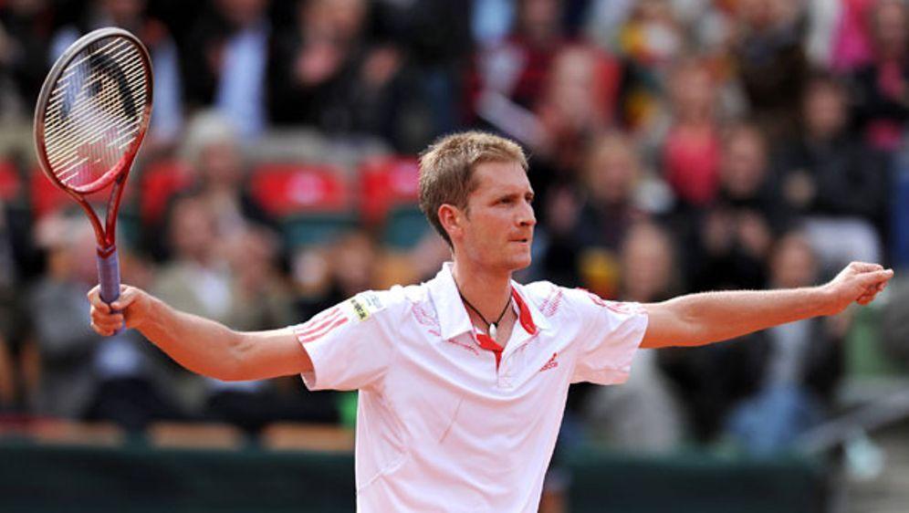So will Florian Mayer beim Relegationsspiel der deutschen Davis-Cup-Mannscha... - Bildquelle: imago