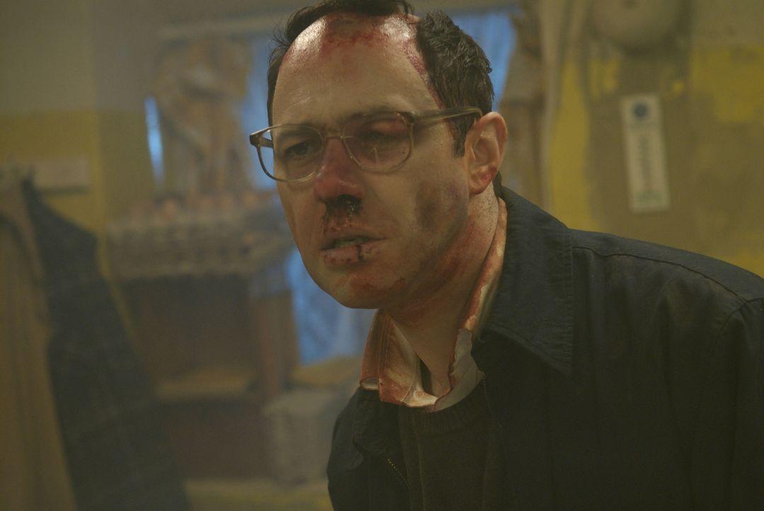 Die geplante Entführung von Tracy geht völlig in die Binsen: David (Andy Serkis) ... - Bildquelle: 2008 Steel Mill (Yorkshire) Limited/UK Film Council. All Rights Reserved.