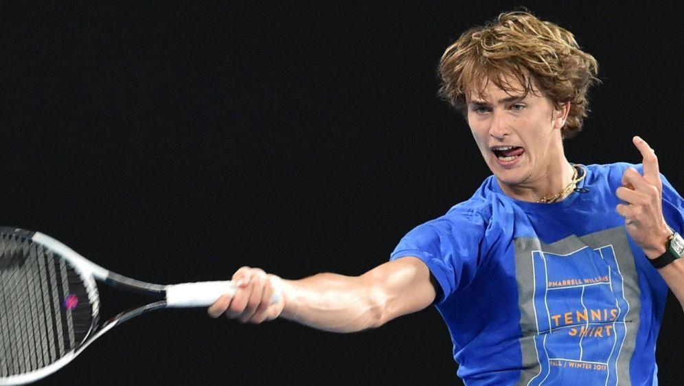 Alexander Zverev will bei den Australian Open überzeugen - Bildquelle: AFPSIDPAUL CROCK