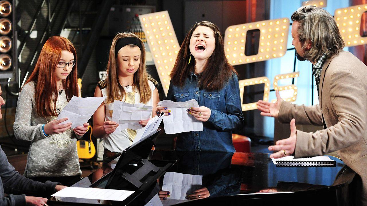 The-Voice-Kids-Stf02-Epi05-Chiara-Alex-Amina-22-SAT1-Andre-Kowalski - Bildquelle: SAT.1/Andre Kowalski