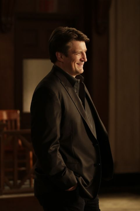 Als sich Castle (Nathan Fillion) für seine Aussage vor Gericht vorbereitet, stoßen er und Beckett bald auf neue Informationen, die den Mordprozess g... - Bildquelle: Scott Everett White 2016 American Broadcasting Companies, Inc. All rights reserved.