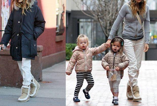 Sarah Jessica Parker liebt ihre Mou Stiefel