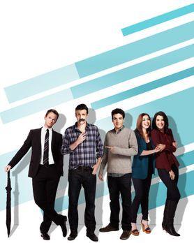 HIMYM - Staffel 9 - Promo Shoot1 - Bildquelle: 2013 CBS Broadcasting, Inc. Al...