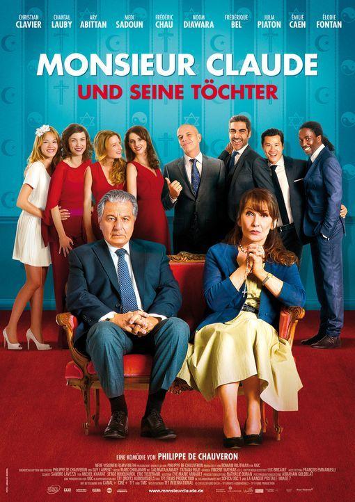 MONSIEUR CLAUDE UND SEINE TÖCHTER - Plakat - Bildquelle: 2014 - Neue Visionen Filmverleih GmbH