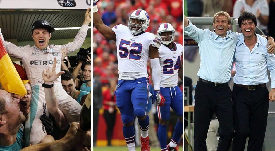 Buffalo Bills wieder in den Playoffs: So hat sich die Sportwelt seit 2000 verändert - Bildquelle: Imago