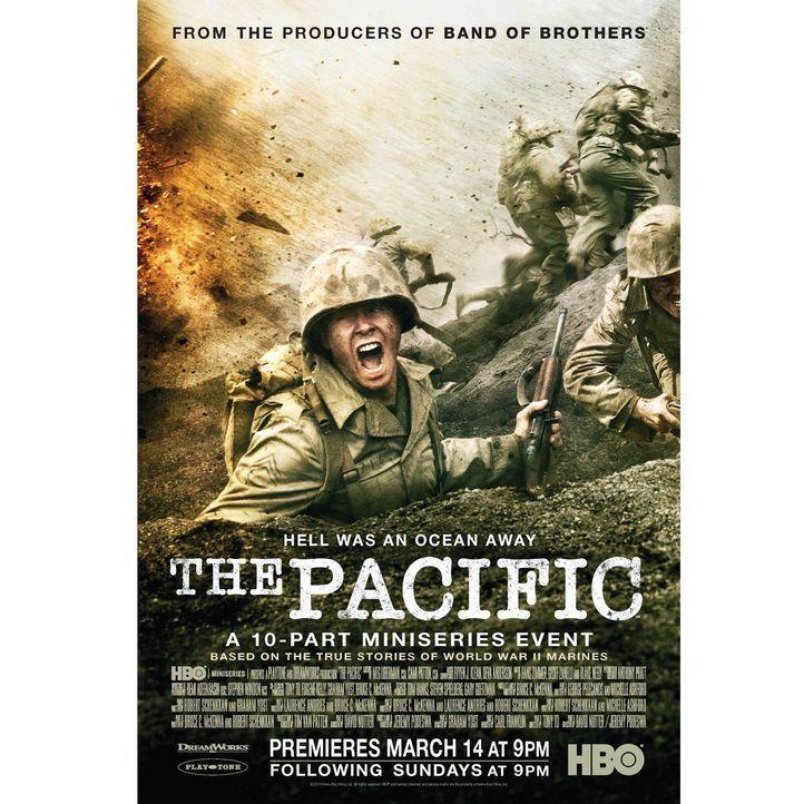 Im Zweiten Weltkrieg: Der Weg des Marineinfanteristen John Basilone (Jon Seda) führt von den Dschungeln bei Guadalcanal über die schwarzen Strände v... - Bildquelle: Home Box Office Inc. All Rights Reserved.