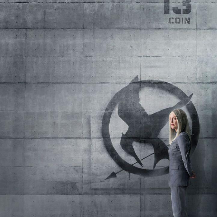 Die Tribute von Panem: Julianne Moore, MOCKINGJAY - Bildquelle: Lionsgate
