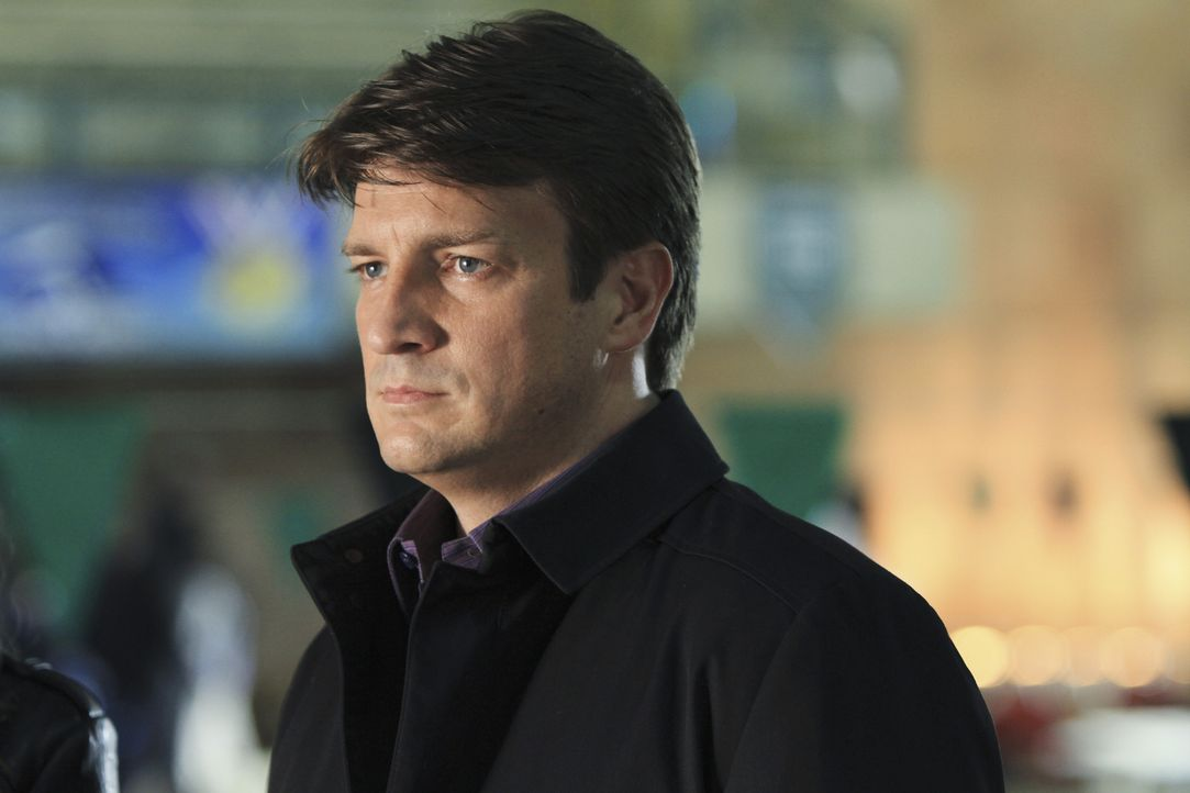 Hat Richard Castle (Nathan Fillion) mal wieder den richtigen Riecher im aktuellen Fall? - Bildquelle: ABC Studios