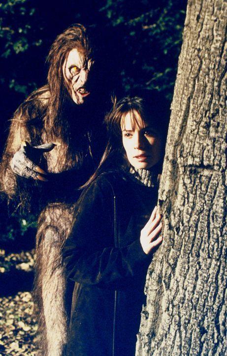 """Piper (Holly Marie Combs, r.) wird von einem """"Wendigo"""" angegriffen ... - Bildquelle: Paramount Pictures"""