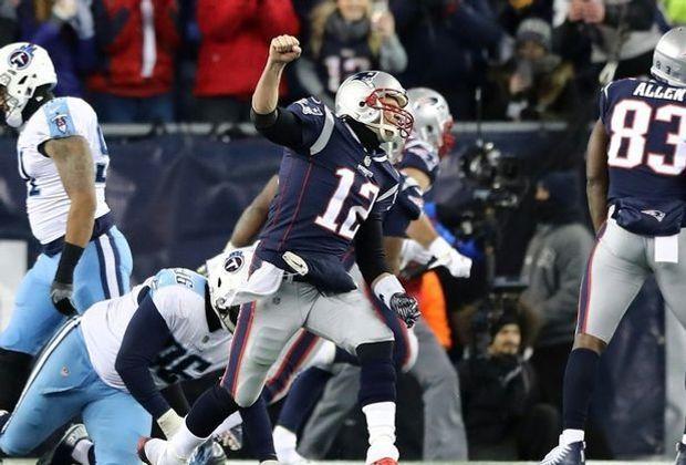 Die New England Patriots stehen im Play-off-Halbfinale der NFL