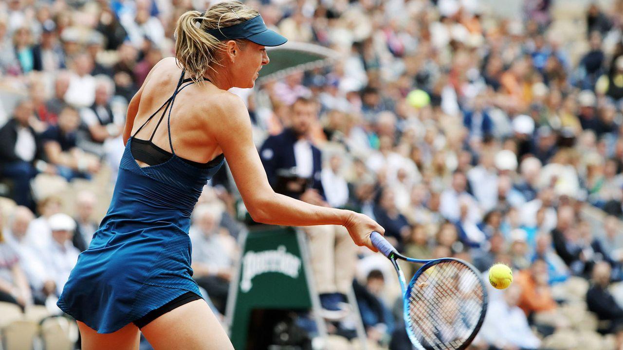 Maria Sharapova (Russland) - Bildquelle: 2018 imago