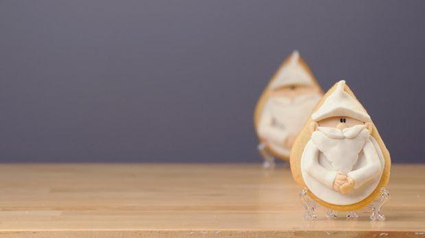 Süße Plätzchen erfreuen besonders zu Weihnachten Groß und Klein. Mit dem Reze...