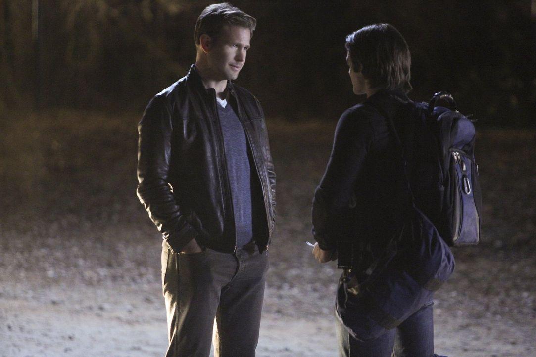 Jeremys (Steven R. McQueen, r.) letzter Tag in Mystic Fall zeigt ihm, warum er den Ort verlassen sollte und macht es ihm gleichzeitig umso schwerer.... - Bildquelle: Warner Bros. Entertainment, Inc