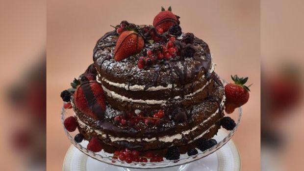 David Naked Cake