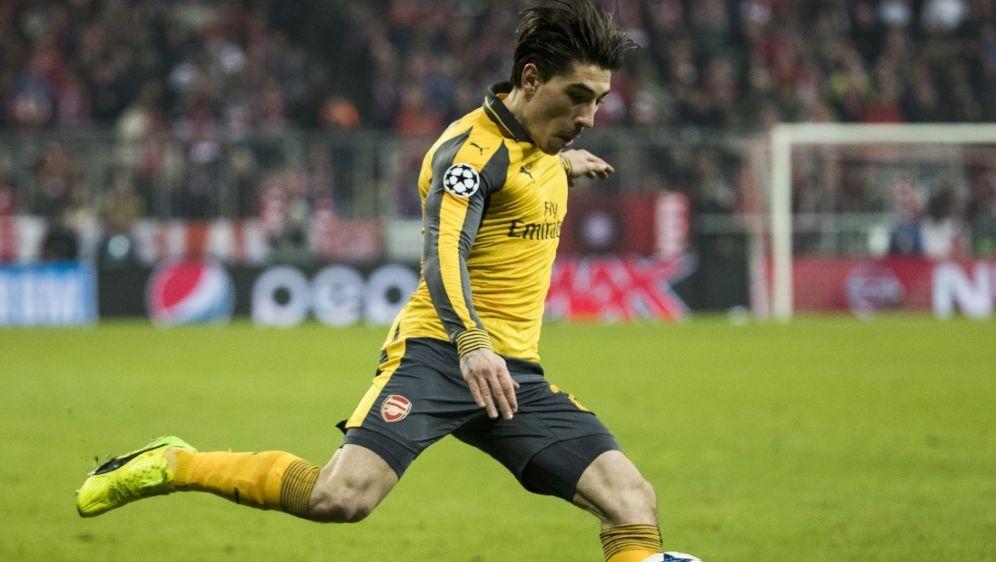 Sein Treffer reichte nicht zum Sieg: Hector Bellerin - Bildquelle: AFPSIDODD ANDERSEN