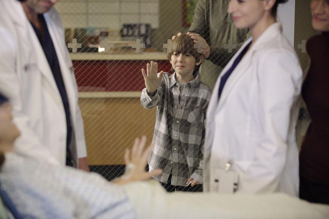 Hofft, dass seine Mutter wieder gesund wird: Mason (Griffin Gluck, M.) ... - Bildquelle: ABC Studios