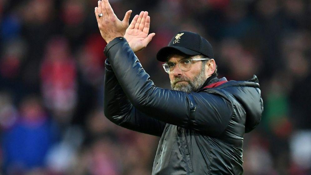 Klopp sieht den FC Liverpool nicht in der Favoritenrolle - Bildquelle: AFPSIDPaul ELLIS