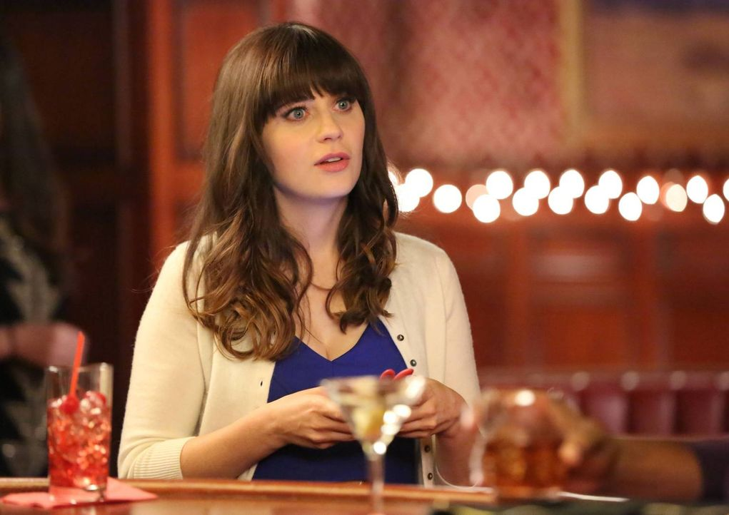 Unglaublich: Zu tiefst verletzt muss Jess (Zooey Deschanel) feststellen, dass ihr Freund nicht zu ihr steht ... - Bildquelle: TM &   2013 Fox and its related entities. All rights reserved.