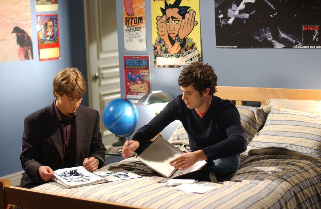 Werden mit einigen Problemen konfrontiert: Ryan (Benjamin McKenzie, l.) und Seth (Adam Brody, r.) ... - Bildquelle: Warner Bros. Television