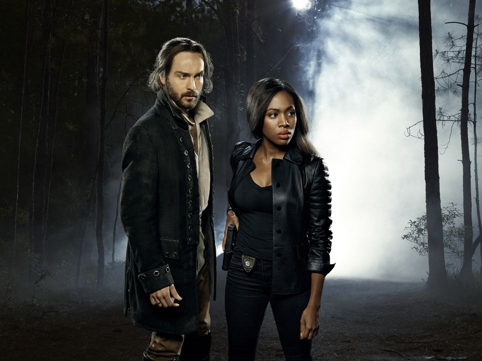 (2. Staffel) - Die vier Reiter der Apokalypse bereiten Ichabod (Tom Mison, l.) und Abbie (Nicole Beharie, r.) weiterhin riesige Probleme ... - Bildquelle: 2014 Fox and its related entities. All rights reserved.