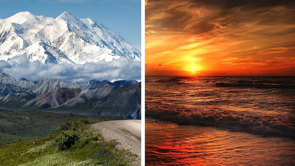 Berge vs. Meer